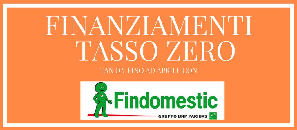 FINANZIAMENTI A TASSO ZERO CON FINDOMESTIC